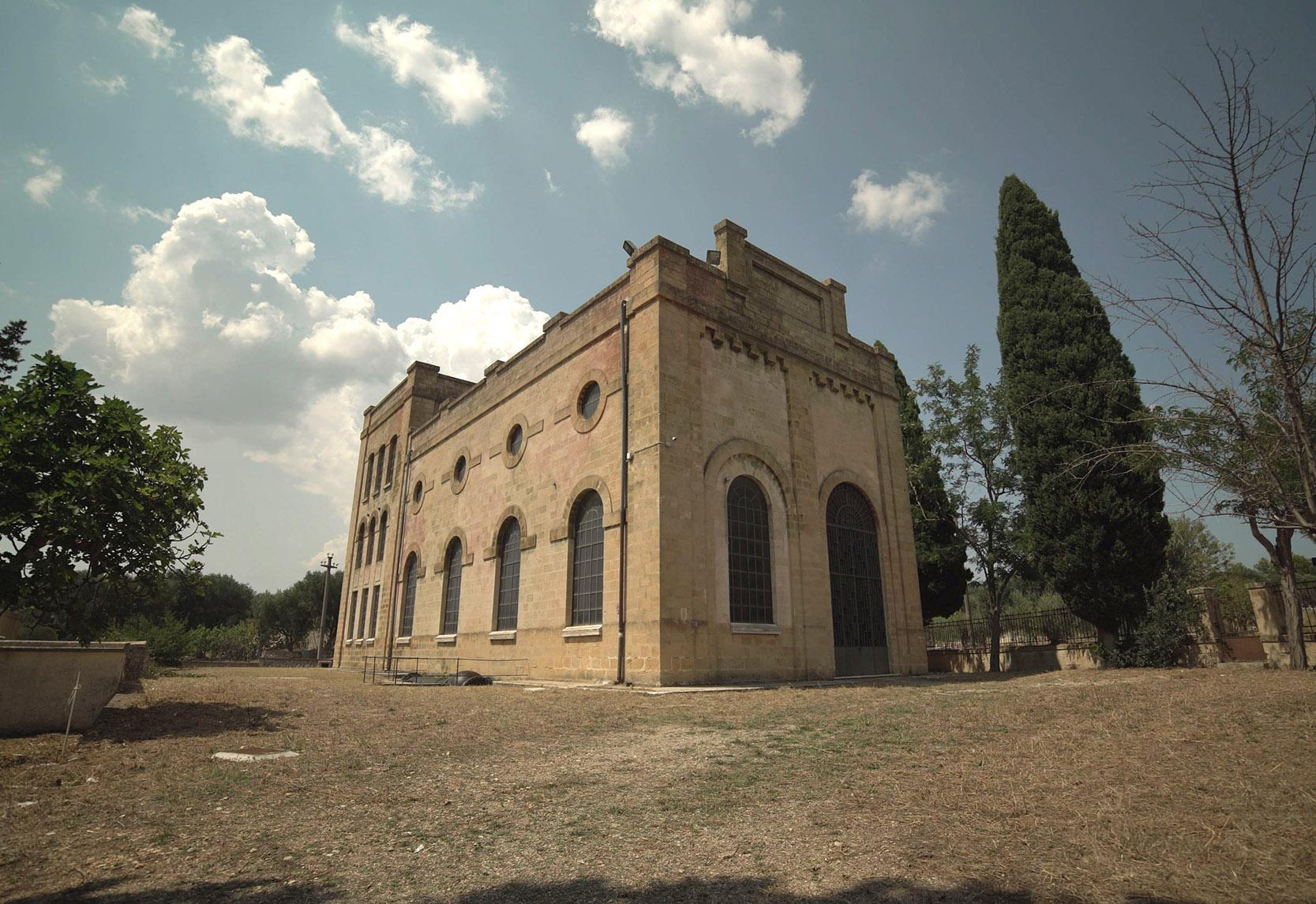 La Centrale Idroelettrica Battaglia_Esterni