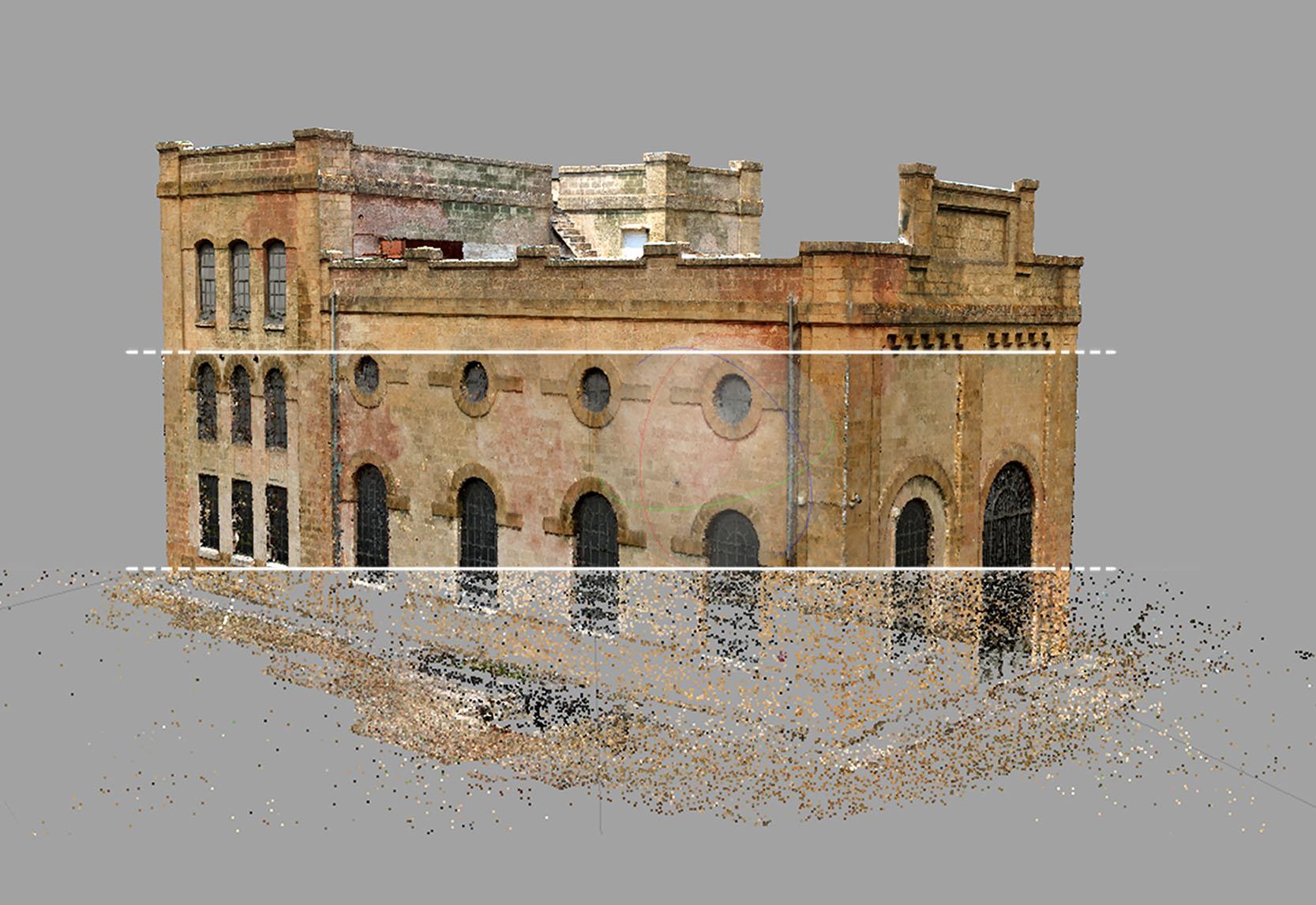 La Centrale Idroelettrica Battaglia_Fasi di lavorazione del modello 3D